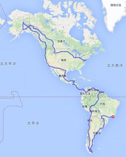 车轮上的世界路——巴西奥运会暨美洲大陆穿越